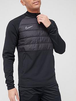 nike-academy-padded-drill-top-black