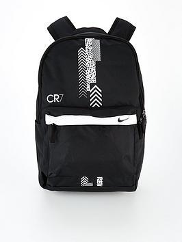 nike-youth-cr7-backpack-black-white