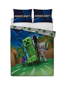 minecraft-creeps-double-duvet-cover-and-pillowcase-set