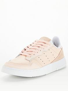 adidas-supercourt-junior-trainers-pink