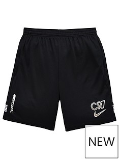 nike-youth-cr7-dry-shorts-black