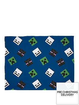 minecraft-creeps-fleece-blanket
