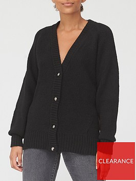 v-by-very-button-up-cardigan-black