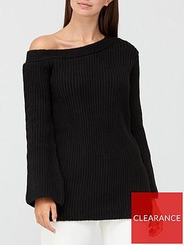 v-by-very-off-the-shoulder-jumper-black