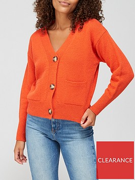 v-by-very-button-up-short-cardigan-with-pockets-burnt-orange