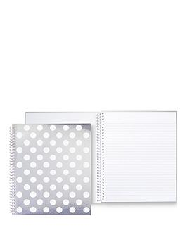 Kate Spade New York Jumbo Dot Large Spiral Notebook