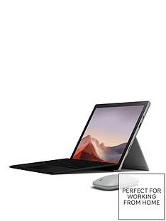 microsoft-surface-pro-7-laptop-123-inch-intel-core-i3-4gb-ram-128gb-ssd-keyboard-and-wireless-mouse-includednbspoptional-microsoftnbsp365-family-platinum