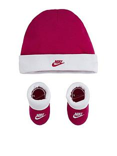 nike-younger-unisex-nike-futura-hat-amp-bootie-2-piece-set-pink