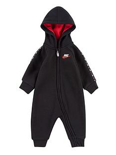 nike-younger-baby-boysnbspmicro-swoosh-coverall-black