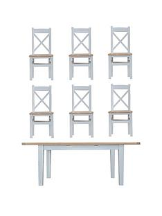 k-interiors-harrownbsp160-210-cm-extending-dining-table-nbsp6-chairs-greyoak