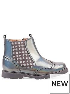 start-rite-metallic-chelsea-boot
