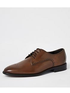 river-island-rodeo-lace-up-brogue-brownnbsp