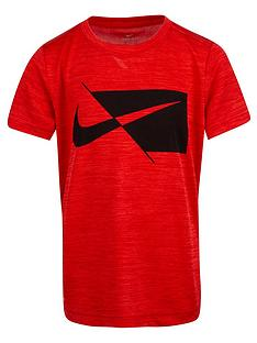 nike-younger-boys-dri-fit-performance-short-sleevenbspt-shirt-red