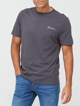 river-island-slim-prolific-tee-dark-grey