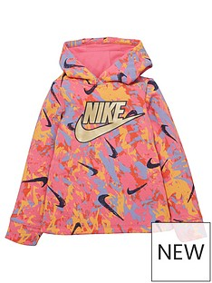 nike-younger-girls-playground-rules-hoodie-pink