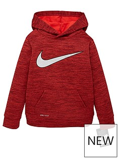 nike-younger-boys-metallic-swoosh-therma-pullover-red
