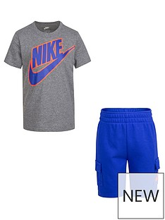 nike-younger-boys-t-shirt-and-cargo-shorts-2-piece-set-bluegrey