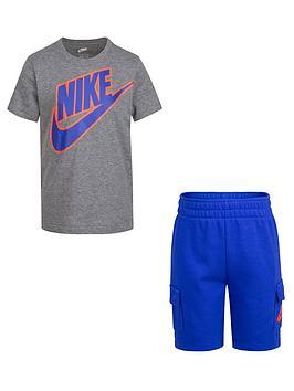 nike-younger-boys-t-shirt-and-cargo-shorts-2-piece-set-bluegrey