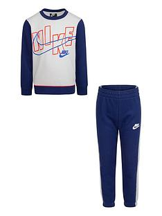 nike-younger-boys-color-block-crew-and-joggers-2-piece-set-blue