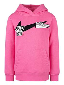 nike-younger-girls-girlscrushnbspit-velcro-hoodie-pink
