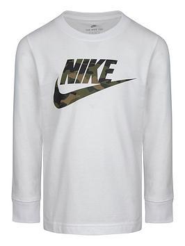 nike-younger-boys-camo-futura-long-sleevenbspt-shirt-white