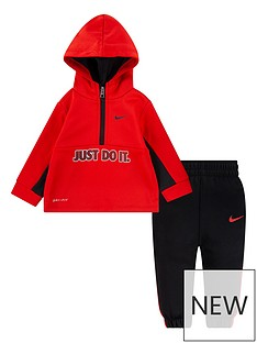 nike-infant-boys-nkb-therma-half-zip-set-red