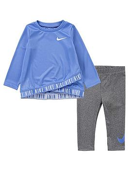 nike-infant-girls-dri-fit-crossover-legging-set-grey
