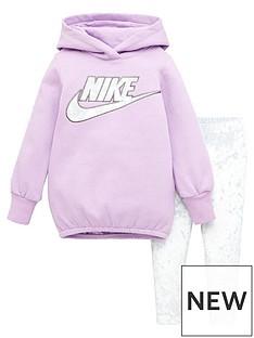 nike-younger-girls-fleece-tunic-amp-velour-legging-set-grey
