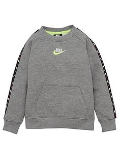 nike-younger-boys-micro-swoosh-crew-neck-top-grey