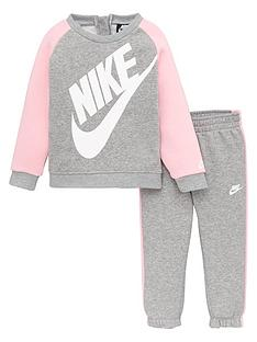 nike-nike-younger-girls-oversized-futura-crew-set
