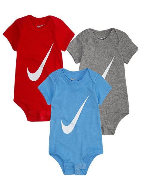 nike-younger-unisex-3-packnbspswoosh-short-sleeve-bodysuit-multi