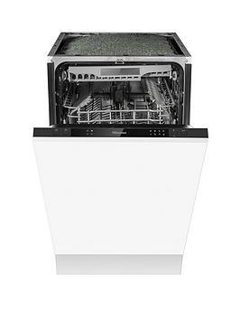 Hisense Hv520E40Uk Built-In, 45Cm Width, 11-Place Slimline Dishwasher