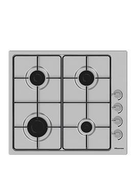 hisense-gm642xsuk-60cm-width-gas-hob-stainless-steel