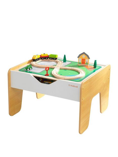 kidkraft-2-in-1-activity-table-with-board-grey-and-white