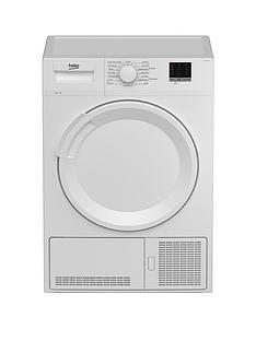 beko-beko-dtlce80051w-8kg-condenser-white-dryer