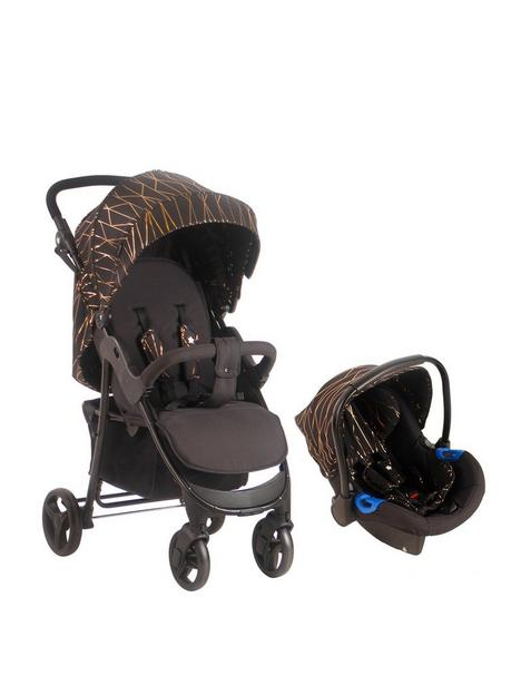 my-babiie-mb30-rose-gold-black-pushchair-and-car-seat