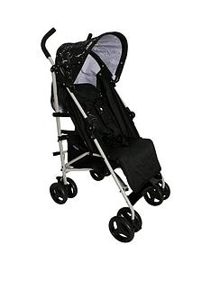 my-babiie-mb01-black-marble-stroller
