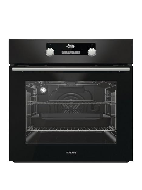 hisense-bi5228pbuk-60cm-built-in-multifunctional-oven-black-glass