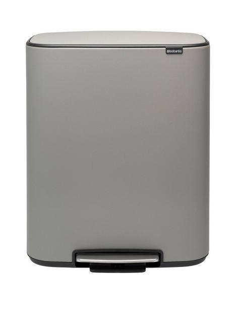 brabantia-bo-30-30-litre-pedal-bin-ndash-grey