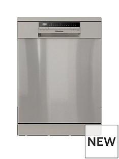 hisense-hs60240xuk-60cm-width-13-place-full-size-dishwasher-stainless-steelbr-nbsp