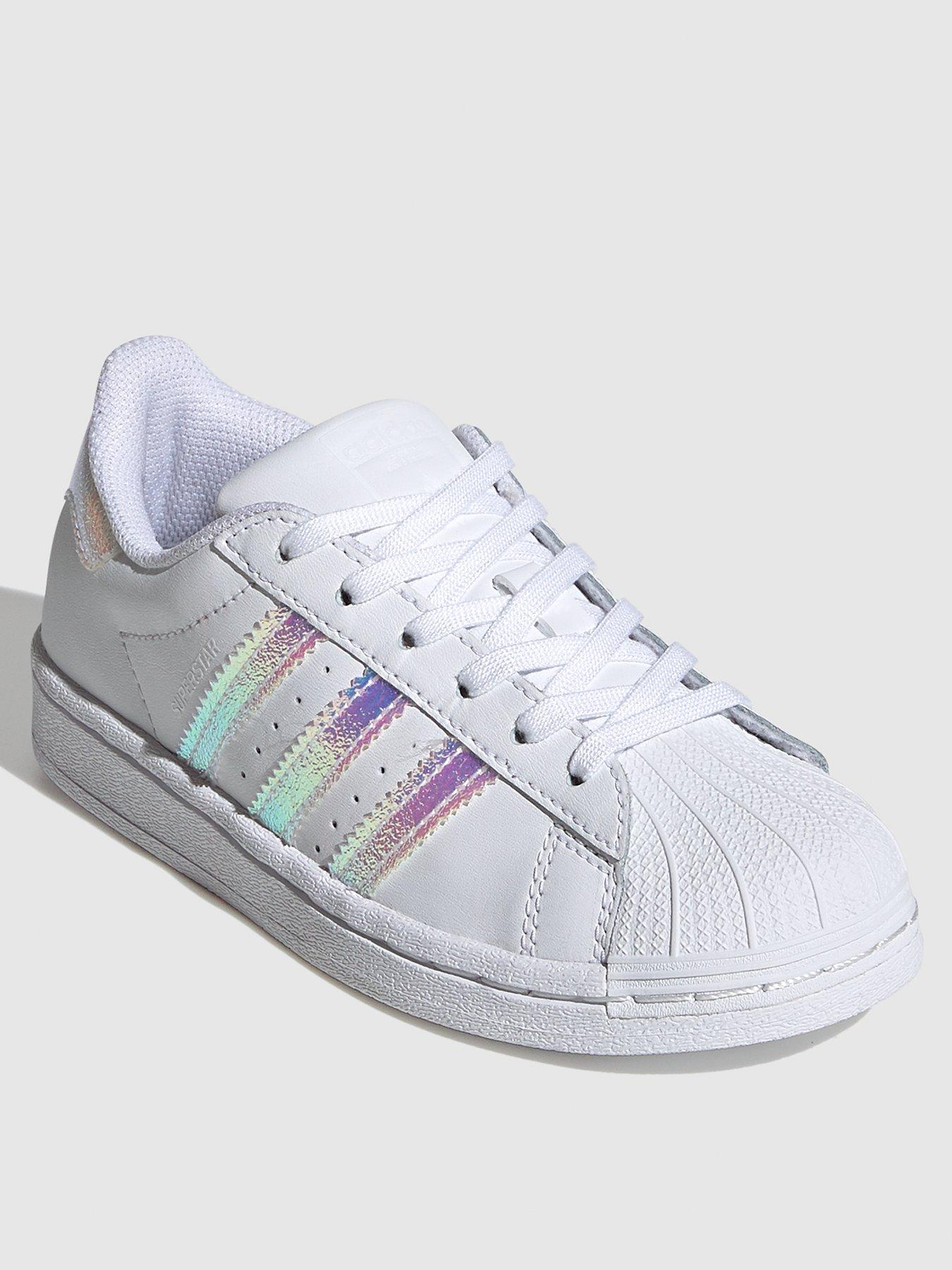 girls adidas trainers size 13