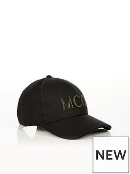mcq-alexander-mcqueen-menrsquos-logonbspembroidered-baseball-cap-black