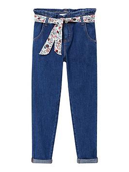 mango-girls-paperbag-waist-jeans-blue
