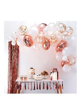 ginger-ray-rose-gold-birthday-balloon-arch-kit