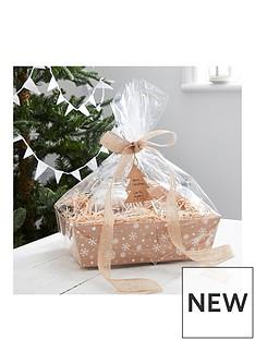 ginger-ray-kraft-christmas-present-hamper-basket-making-kit