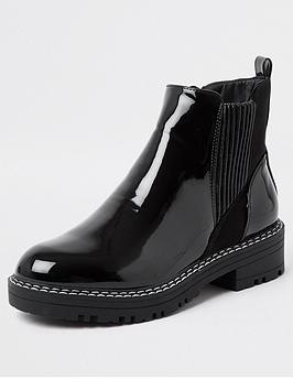 river-island-chunky-patent-chelsea-boot-black