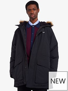 fred-perry-padded-parka