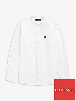 fred-perry-fred-perry-grandad-collar-shirt-white