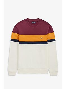 fred-perry-colourblock-sweatshirt