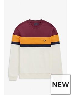 fred-perry-colourblock-sweatshirt